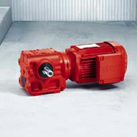 SEW Eurodrive Helical Worm Gear Motor S Series