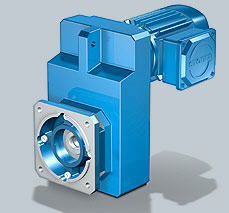 Stober MGS F Shaft-Mounted Helical Geared Motor