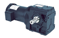 LEESON Grove Gear IRONMAN Helical-Worm S Series Gear Reducers