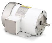 LEESON Washguard White Epoxy Motors