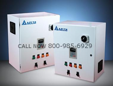 Delta VFD750CP23A-00 Drive Panel