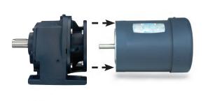 LEESON Grove Gear R Series Helical-Inline Gear Reducers R81073051