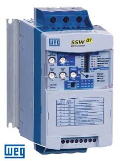 WEG Soft Starter SSW070255T5SH1Z 575V